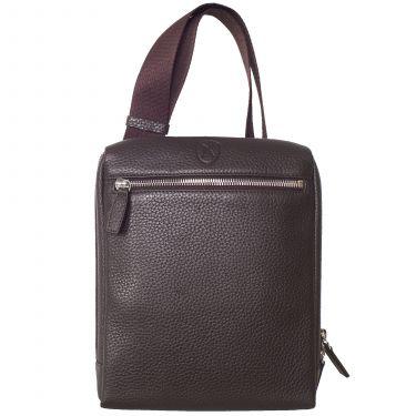 Tablet bag shoulderbag 10 inch leather brown