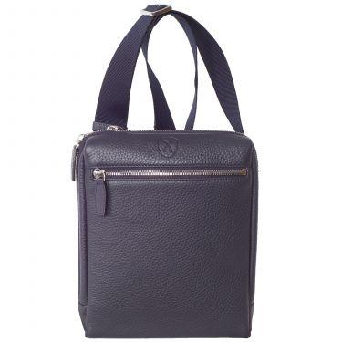 Tablet bag  shoulderbag 10 inch leather blue