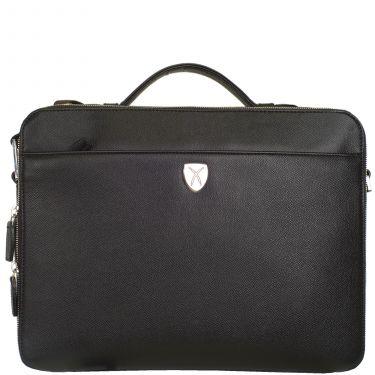 Laptop bag business bag 13 inch leather black