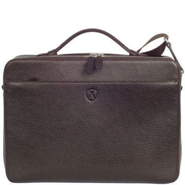Laptop bag business bag 13 inch leather brown