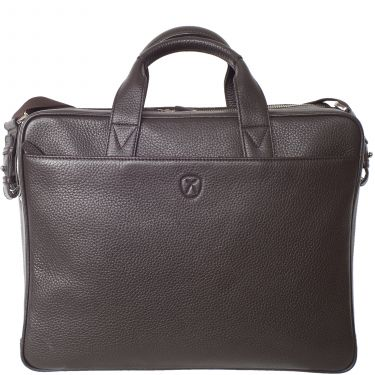 Laptop bag business bag 15 inch leather brown