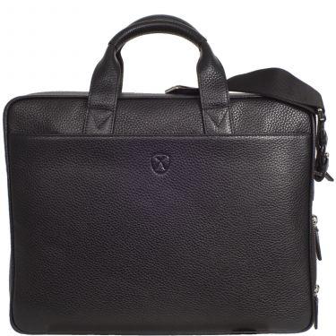 Laptop bag business bag 15 inch leather black