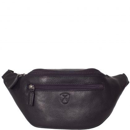 Handbag pouchbag leather brown