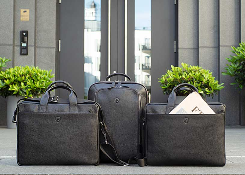 Businesstaschen aus Leder finden