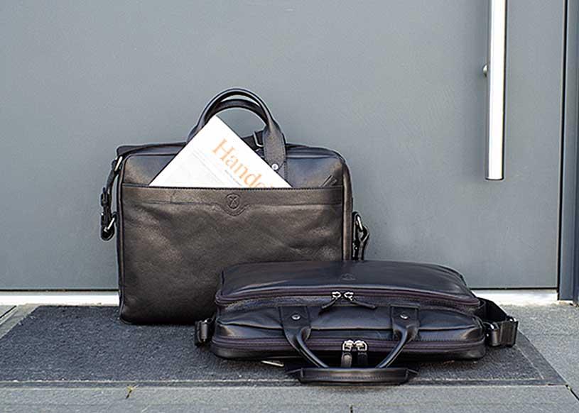 Top 5 black business bags for men