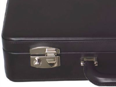 Briefcase with safe lock
