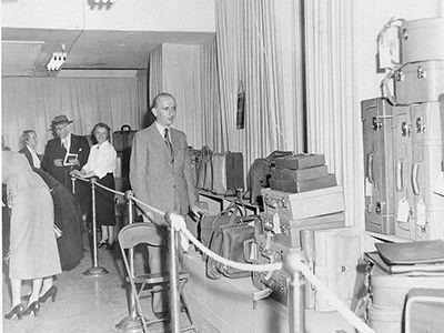Ausstellung New York 1948 von Hubert Offermann