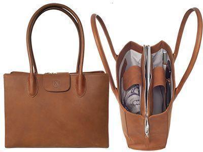 Top 2 Jil Handtasche Businesstasche 13 Zoll cognac