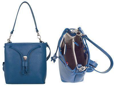 Top 3 Malaga Handtasche Umhängetasche 10 Zoll hellblau
