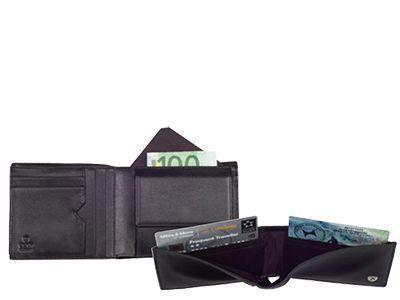 Geldbörsen mit Fächern für Geldscheine