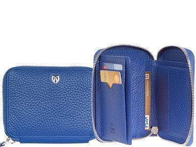 Portemonnaie mit umlaufendem Reißverschluss
