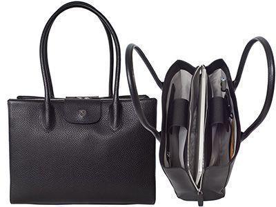 Handtasche Businesstasche 13 Zoll Leder Jil