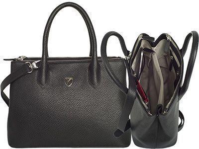 Handtasche Businesstasche 10 Zoll Leder Madrid