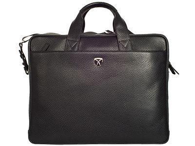 Moderne Businesstasche aus chromgegerbtem Leder