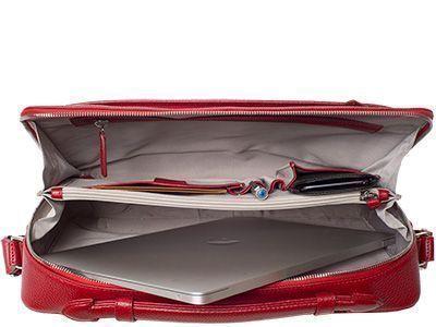 Das Notebookfach ist ein wichtiger Teil einer Businesstasche, auf dessen Größe und Polsterung der Kunde beim Kauf besonders achtet.