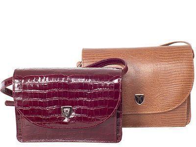 Prägen erlaubt die optische Gestaltung von Leder und das imitieren exotischer Hautstrukturen, z.B. von Krokodilen oder Schlangen.