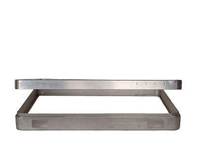 Rahmen aus Aluminium geben Akten- und Kosmetikkoffern die gewünschte Stabilität.