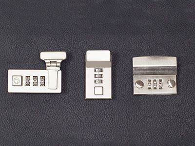 Zahlenschlösser erlauben durch Drehen der Zahlenräder ein leichtes Schließen oder Öffnen und sind sehr praktisch, da ein Schlüssel überflüssig wird.