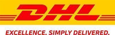 DHL Logo with Claim