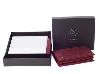 Single box packaging of a wallet